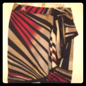 NEW MULTI COLOR SKIRT